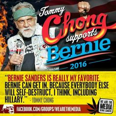 Tommy Chong Speaks Truth.