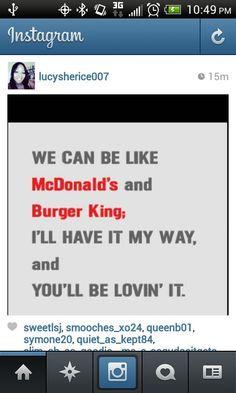 Comedy Quotes, My Way, Mcdonalds, Instagram