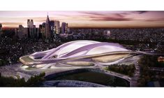Zaha Hadid Architects(GBR)|NEW NATIONAL STADIUM JAPAN