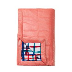 Oversize Picnic Blanket in Painted Plaid - Kate Spade Saturday