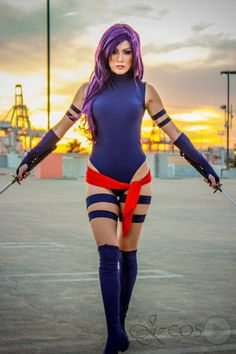 A Psylocke Cosplay that is a Sight for Sore Eyes!