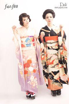 100853:青山香純 まとめ髪 耳隠し フィンガーウェーブ 髪飾り 振袖 成人式 シチュエーション