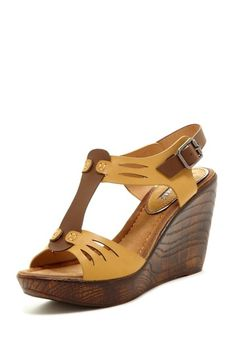 Ivy Wedges by Beauty Heel - $20.00 - lots of sizes left! Love the Earthy colors!