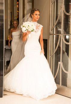 #Celebrity #Wedding #Dresses - Georgina Dorsett
