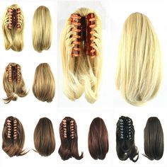 90g Hair Ponytails with Clip Hair Bun Synthetic Claw Hair Ponytail Hair Extensions Hairpiece. Click visit to buy #SyntheticExtensions