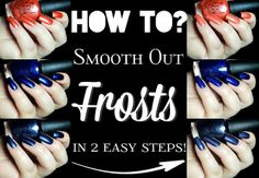 How To Smooth Out Frosts in 2 easy steps?