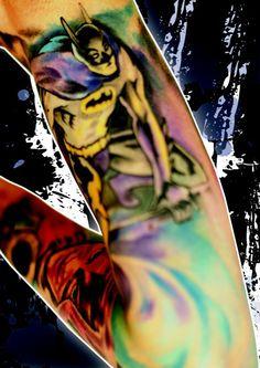 say what say what? batman sleeve.