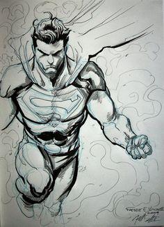 """Superman"" by Freddie E. Williams II"