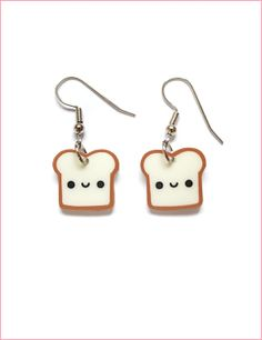 I found 'Cute Plush - Happy Toast earrings' on Wish, check it out!