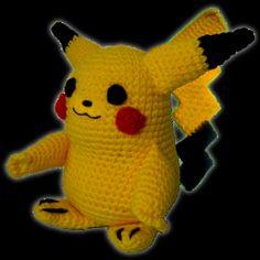 Paso a paso para tejer al crochet a Pikachu, – Amigurumi Pikachu, Patron Crochet, Crochet Pokemon, Amigurumi Doll, Tweety, Merry, Dolls, Knitting, Sewing