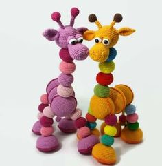 Amalka Giraffe-Hippe Haaksels-US Crochet Baby Toys, Crochet Mouse, Crochet For Kids, Crochet Animals, Crochet Dolls, Crochet Giraffe Pattern, Crochet Amigurumi Free Patterns, Free Crochet, Giraffe Stuffed Animal
