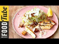 Healthy Chicken Caesar Salad | Jamie Oliver - YouTube