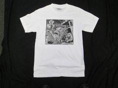 """M.C. Escher Adult T-shirt Size Small """"Relativity"""" Never Worn!"""