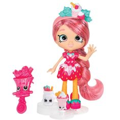 Awesome collection of Shopkins Toys in UK. Shop now for Shopkins season 5 and other series. Pre-order, buy online or collect in your local Smyths Toys Superstore. Shoppies Dolls, Shopkins And Shoppies, Shopkins Season 7, Vip Card, Doll Stands, Toys R Us, Kids Toys, Kawaii, Toys For Girls
