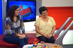 """Tejiendo Perú en el programa """"Doble Click Digital"""" de ATV+ por el día de la Madre 2014!"""