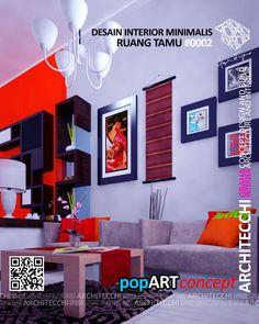 Desainruangtamuminimalis Livingroomdesign Guestroomdesign Arsitekinterior Interiorpopart Archit