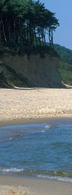 Baltic sea beaches near Jaroslawiec, Poland, by PolandMFA