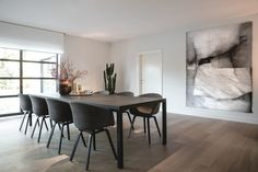 Caressa | Abitare Meubelen Cosy Dining Room, Dining Table Chairs, Dining Room Design, Interior Styling, Interior Design, Living Room Interior, Decoration, Living Spaces, Room Decor
