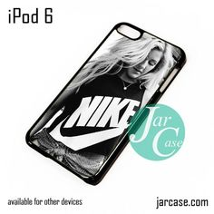 ellie goulding wearing nike iPod Case For iPod 5 and iPod 6