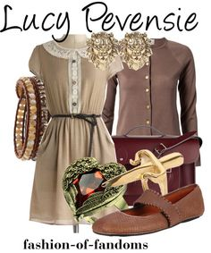Outfit inspired by Lucy Pevensie from Narnia Fandom Fashion