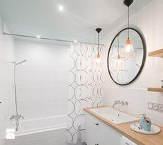 Mieszkanie w Ketach, 48 m2 - Łazienka, styl eklektyczny - zdjęcie od TIKA
