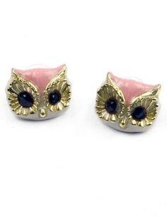 Owl Earrings by Modernaked