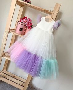 Exceptional boho dresses are readily available on our internet site. Take a look and you wont be sorry you did. Frocks For Girls, Kids Frocks, Dresses Kids Girl, Kids Outfits, Flower Girl Dresses, Toddler Outfits, Frill Dress, Tulle Dress, Maxi Dresses
