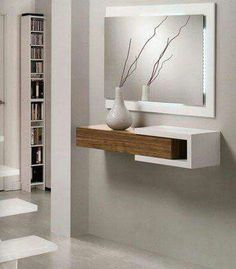 Modern wall mirror design ideas for living room wall decoration 2019 Living Room Decor, Bedroom Decor, Wall Decor, Home Furniture, Furniture Design, Dressing Table Design, Regal Design, Modern Design, Interior Decorating