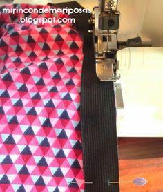 Hoy os explico cómo coser una cintura con el elástico directamente. Es rápido y práctico, y resultan muy cómodas.         Medimos el elásti...