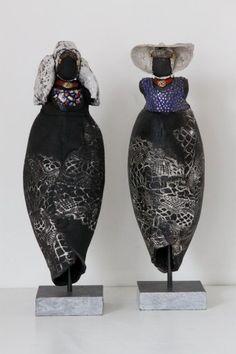 Afbeeldingsresultaat voor keramiek beelden raku