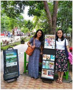 Con el exhibidor en Indonesia