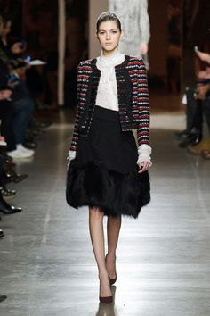 Oscar de la Renta...nobody does it better...Fall NY Fashion Week