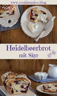 #bread #Brot #backen #baking #rezept  #thermomixrezepte #lievitomadre #blueberry #blueberries #Skyr #thermomix