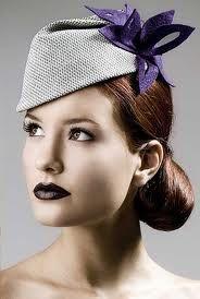 Sleek contemporary look. #millinery #judithm #gatsby