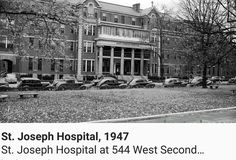 where we were born St Joseph's Hospital, Fayette County, My Old Kentucky Home, Louisville Kentucky, Things To Know, Vintage Photos, Past, The Neighbourhood, Street View