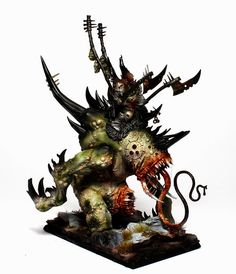 Tale of Painters: Showcase: Warriors of Chaos Orghotts Daemonspew