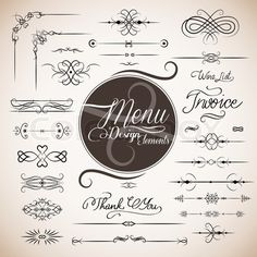 Restaurant Menu Design Template Stock Vector - Illustration of chef, dessert: 25526690 Buy Coffee Beans, Coffee Mugs, Web Design, Graphic Design, Typography Design, Lettering, Food Retail, Restaurant Menu Design, How To Order Coffee