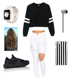 """School "" by ximenaordonez9 on Polyvore featuring NIKE and MICHAEL Michael Kors"