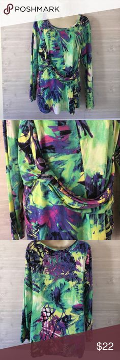 Alberto Makali Top Vibrant colors!  Stretchy and comfy but classy. Alberto Makali Tops