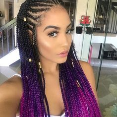 Cornrows Frisuren 2019 two Braids cornrows Cornrows Frisuren can find Cornrow and more on our website.Cornrows Frisuren 2019 two Braids cornrows Cornrows Frisuren 2019 Big Cornrows Hairstyles, Side Cornrows, Twist Braid Hairstyles, Twist Braids, African Hairstyles, 1950s Hairstyles, Braids Cornrows, Twists, Evening Hairstyles