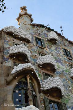 Casa Batlló 2016 Barcelona, Wood Watch, Spain, Architecture, Places, Wooden Clock, Sevilla Spain, Barcelona Spain