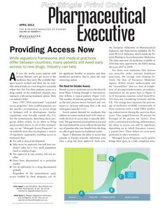 Pharmaceutical Executive_April 2012_v2
