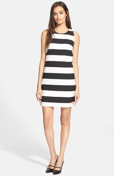 Milly Stripe A-Line Dress available at #Nordstrom