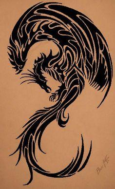 phoenix+tribal+tattoos+(5).jpg (363×598)