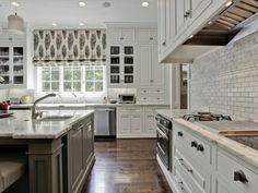 raffrollo küche schönes muster fenster verdunkeln   Einrichten und ...