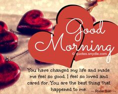 Good Morning Love Quotes | Good Morning Quotes Love Sayings Good Morning Let Me Love You I