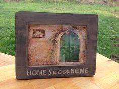 Picture Frame PROVANCE Home by NetteSachen on Etsy