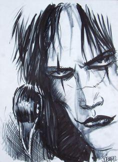 James O'Barr The Crow Comic Art