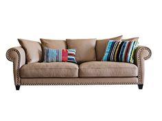 Leather sofa CHESTER CHIC - ROCHE BOBOIS