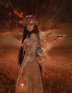 Bab'sArtCreations on DeviantART Category : Illustrations/Art MCN: WVA8K-8CVT7-1R843 @ copyright UTC 2013- All Rights Reserved The butterfly and the Fairy Model: BG: Wings:[link] Stars:[link] Hair:[...